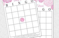 Free Printable Baby Shower Bingo