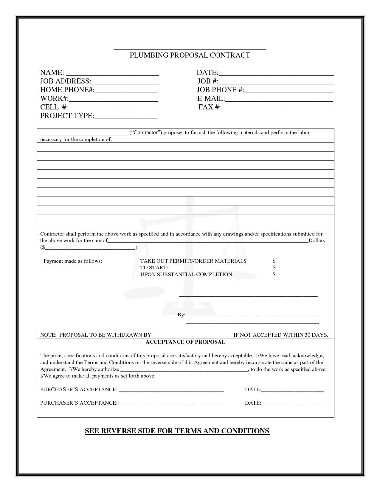 Pinboyvanss On Business | Proposal Templates, Templates - Free Printable Proposal Forms