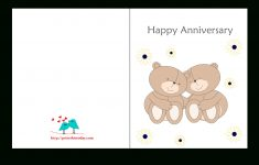 Printable Cards Free Anniversary