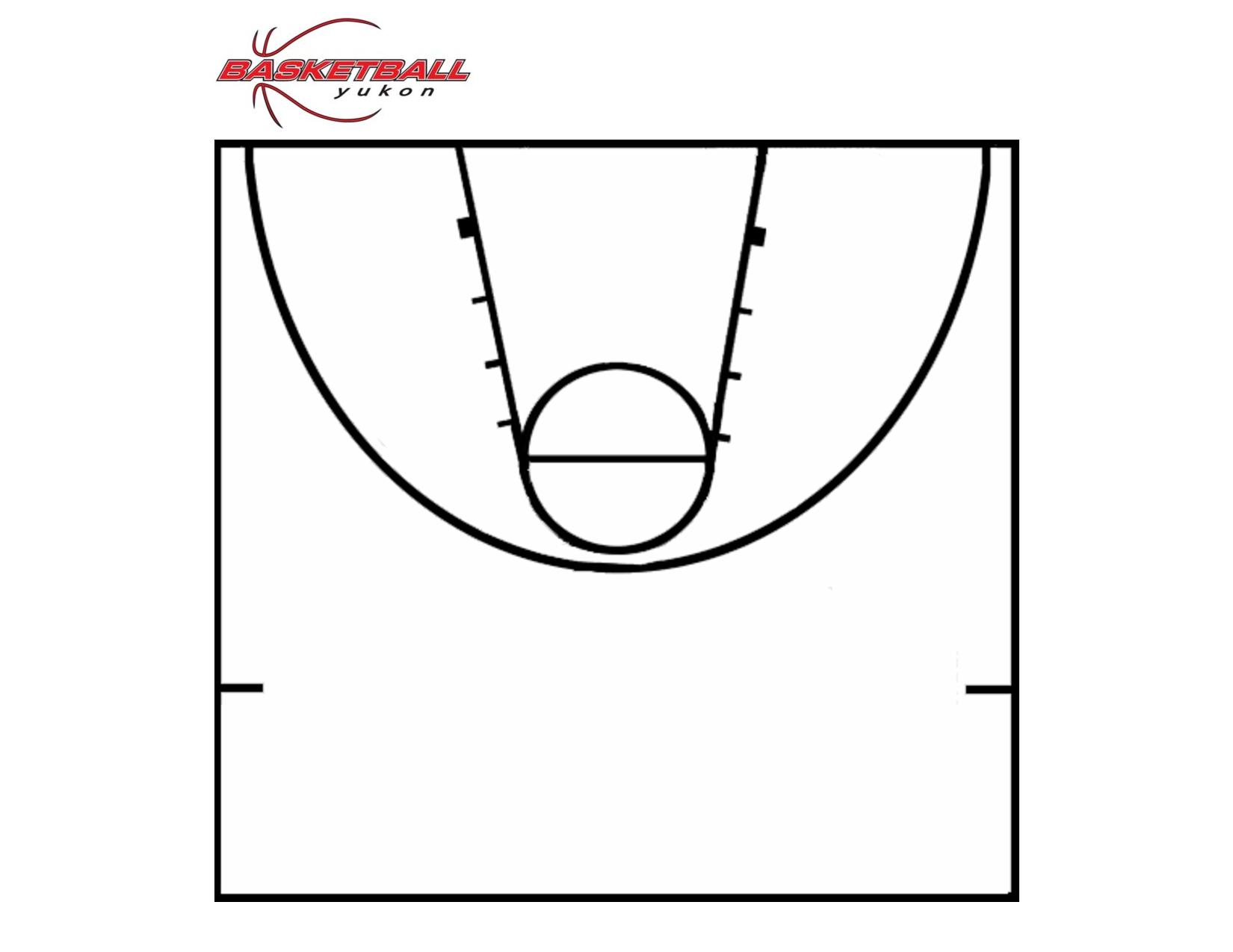 Printable Basketball Court   Clipart Panda - Free Clipart Images - Free Printable Basketball Court
