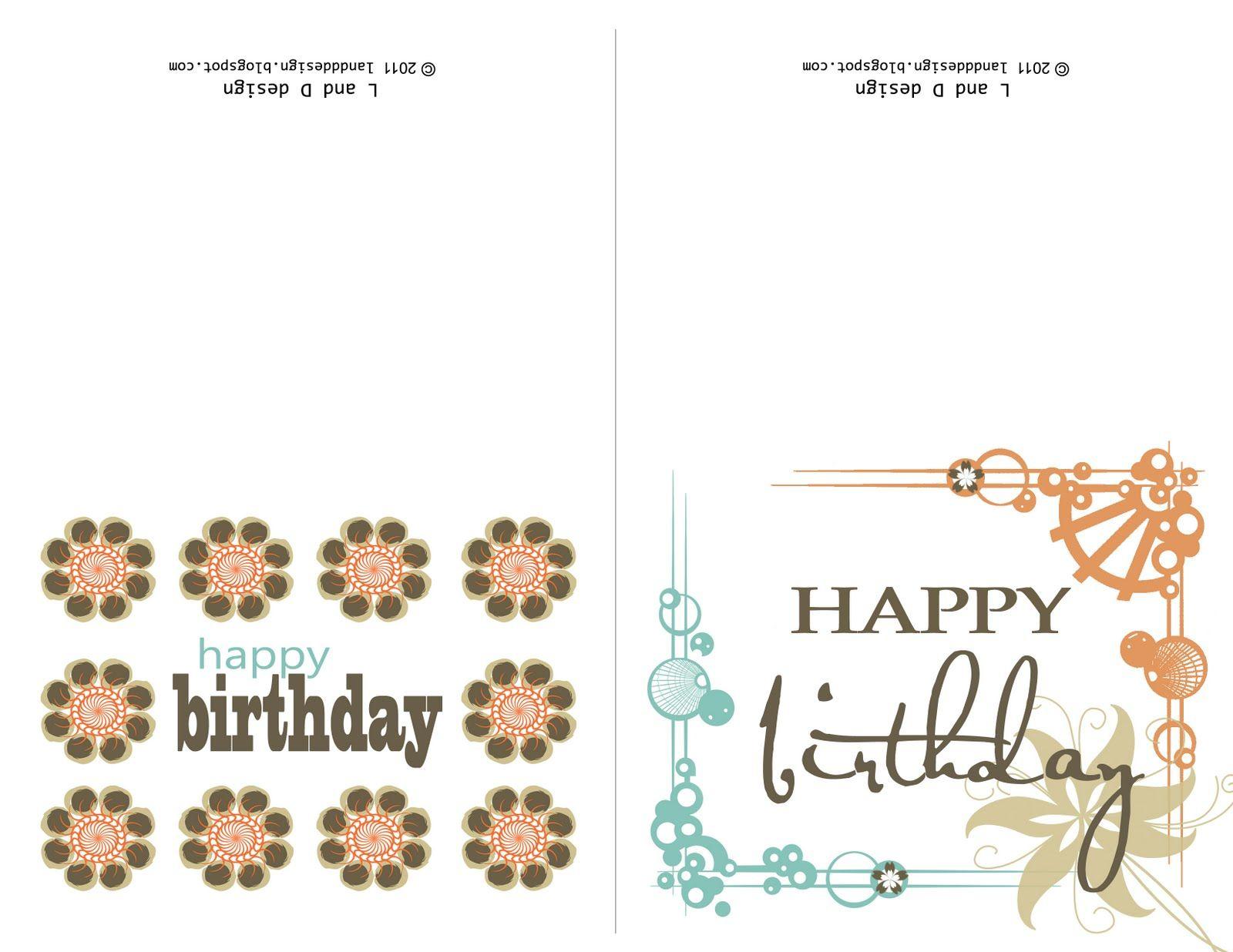 Printable Birthday Cards For Mom   Happy Birthday To You   Pinterest - Free Printable Birthday Cards For Mom