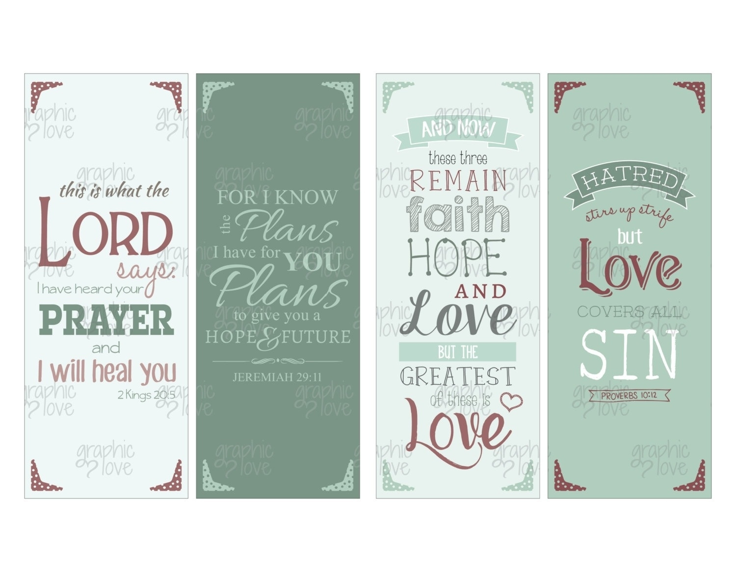 Printable Bookmarks With Bible Verses 2018 | Corner Of Chart And Menu - Free Printable Bookmarks With Bible Verses