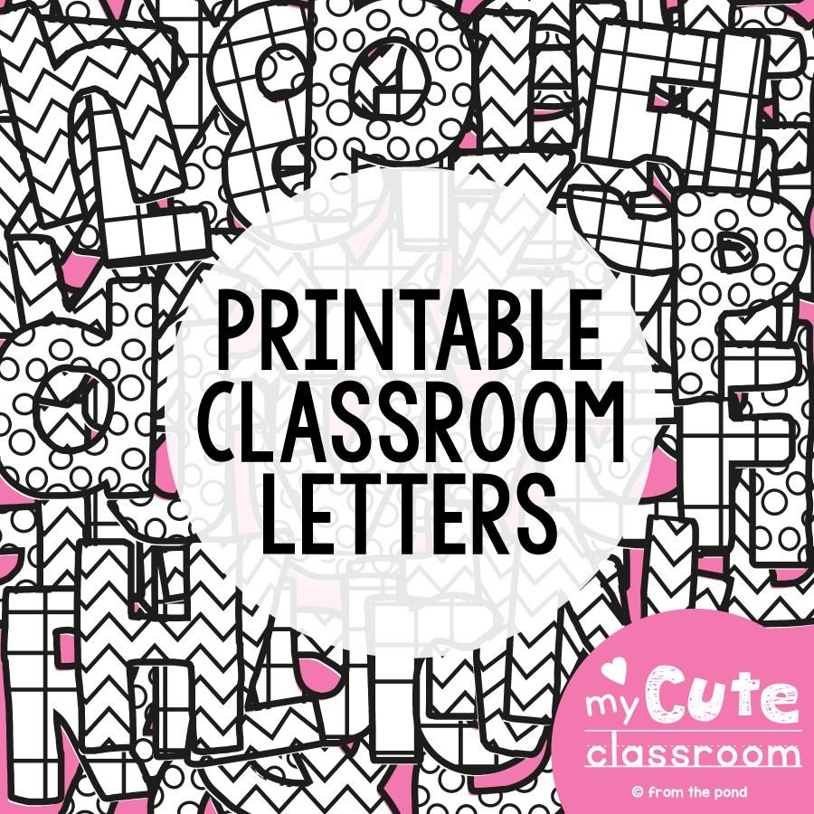 Printable Bulletin Board Letters – Prntbl - Free Printable Bulletin Board Letters