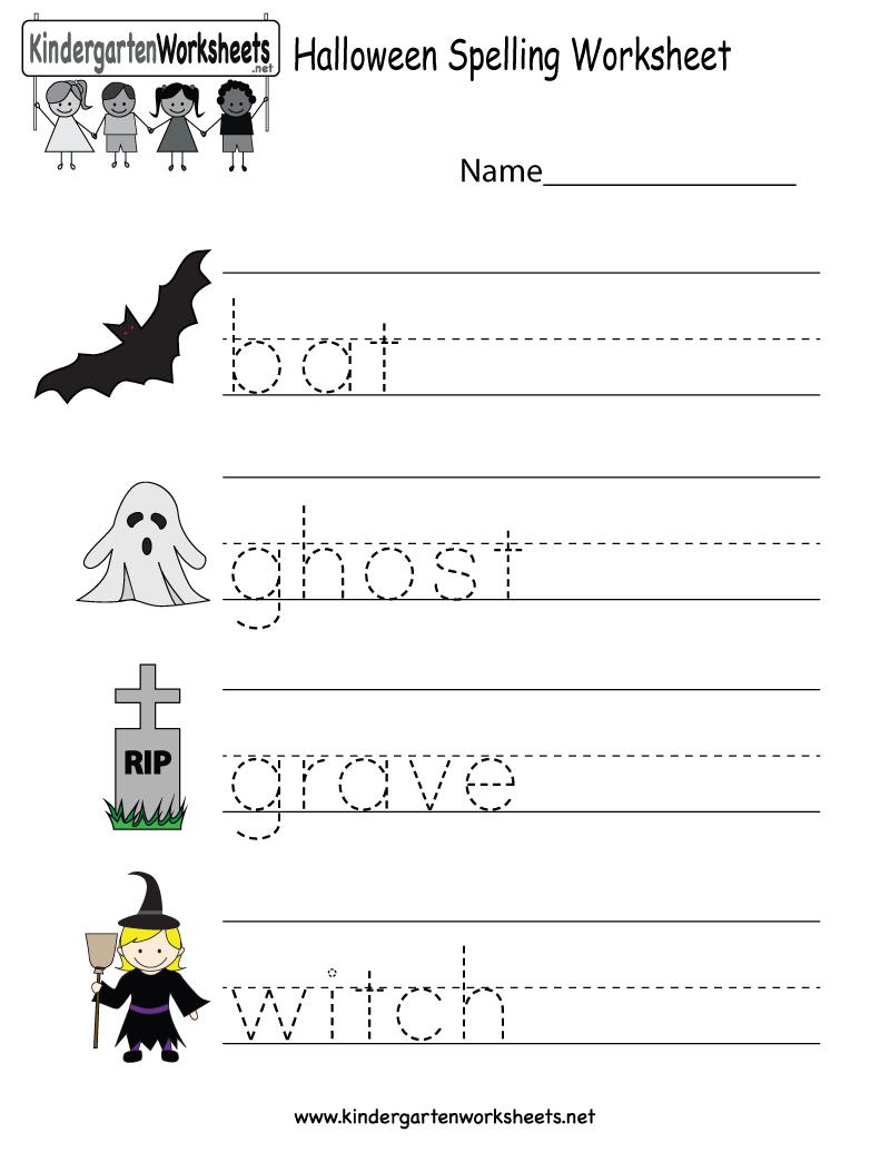 Printable Halloween Worksheets For Preschoolers | Halloween Arts - Free Printable Halloween Worksheets