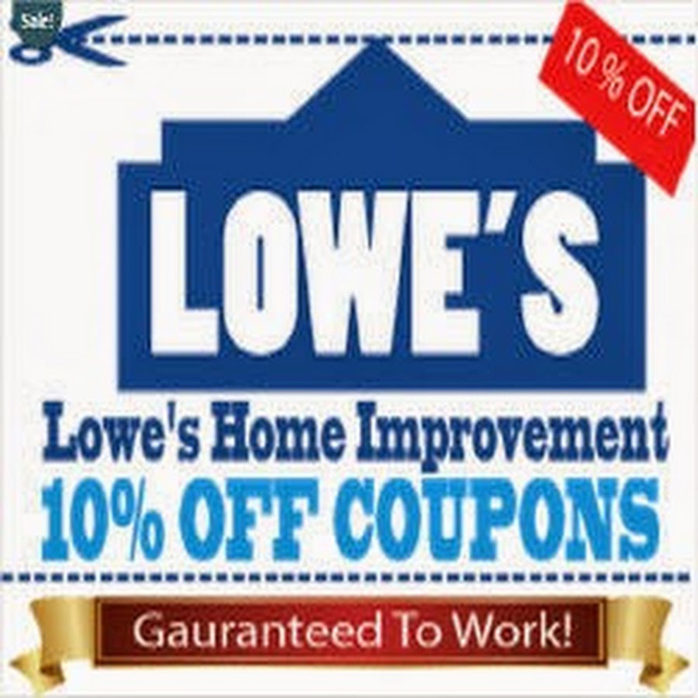 Printable Lowes Coupon 20% Off &10 Off Codes December 2016 - Free Printable Lowes Coupons
