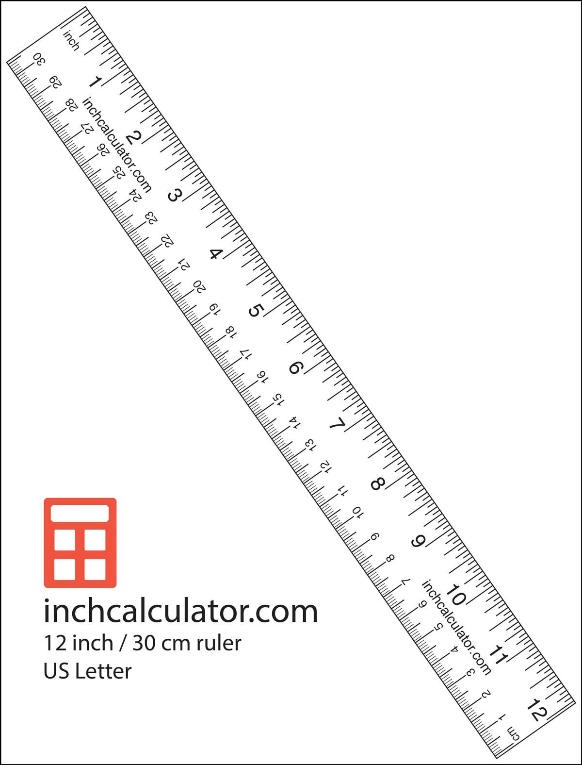 "Printable Rulers - Free Downloadable 12"" Rulers | Anthropology - Free Printable Ruler"