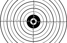 Free Printable Shooting Targets