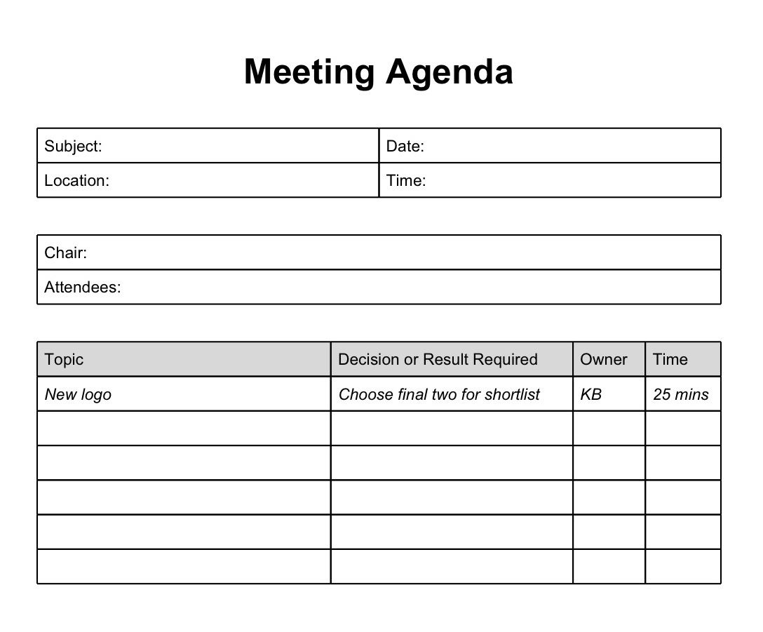 Printable Template Of Meeting Minutes | Long Does It Take The - Meeting Minutes Template Free Printable