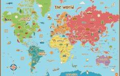 Free Printable World Map Pdf
