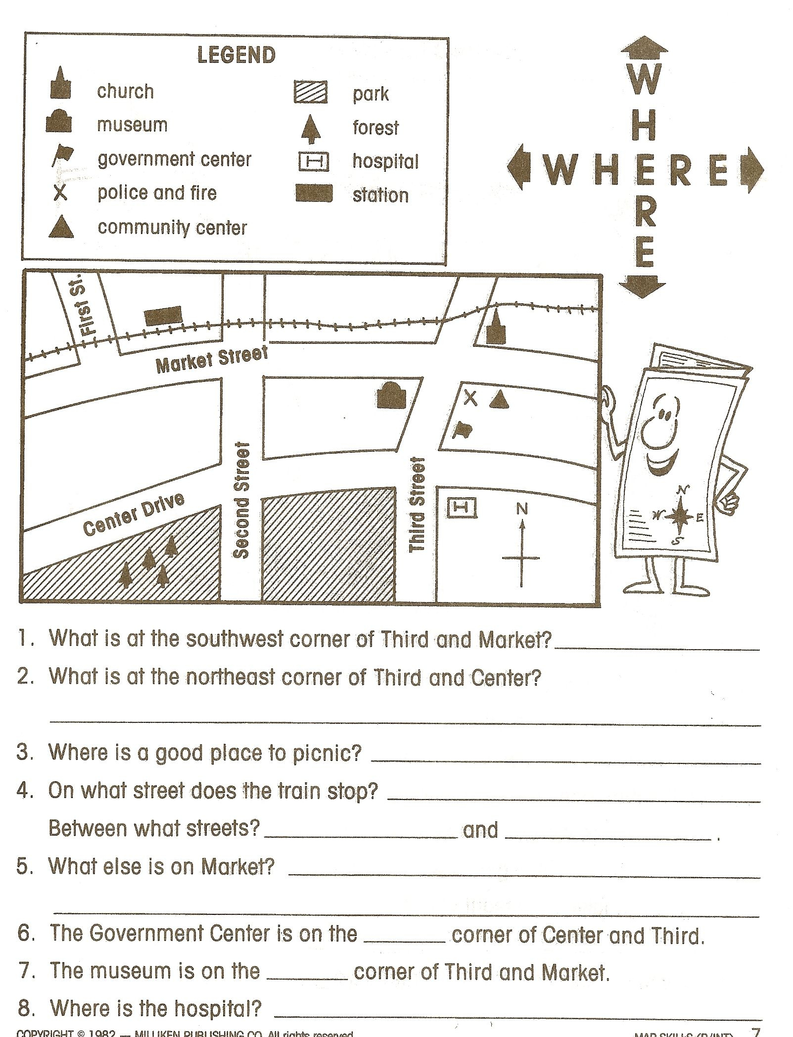 Social Studies Worksheets - Google Search | Social Studies - Free Printable Worksheets For 2Nd Grade Social Studies