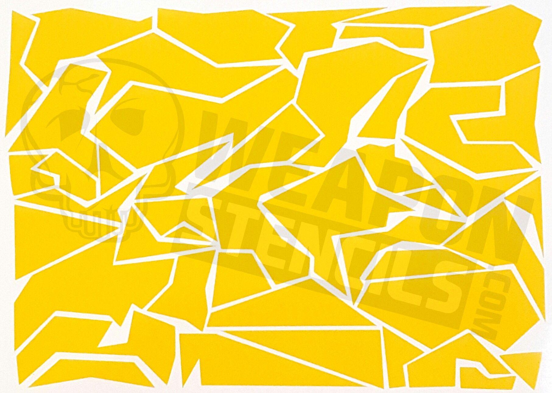 Splinter Camo | Camo Ideas | Camo Stencil, Adhesive Stencils, Stencils - Free Printable Camo Stencils