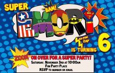 Free Printable Superman Invitations