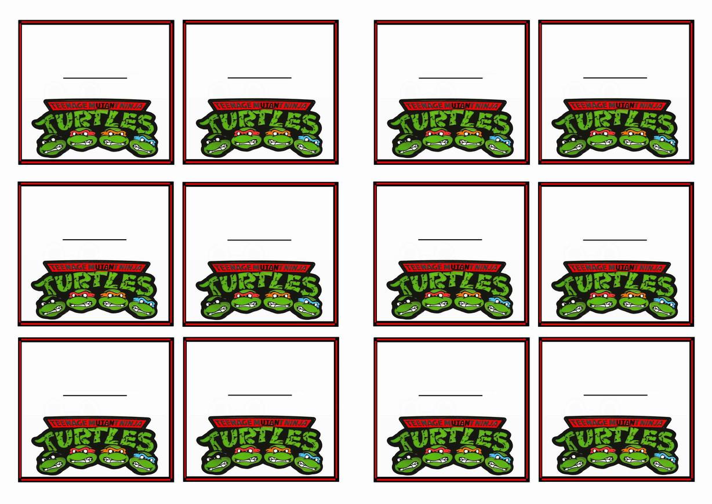 Teenage Mutant Ninja Turtles – Cupcake Toppers   Birthday Printable - Free Printable Teenage Mutant Ninja Turtle Cupcake Toppers
