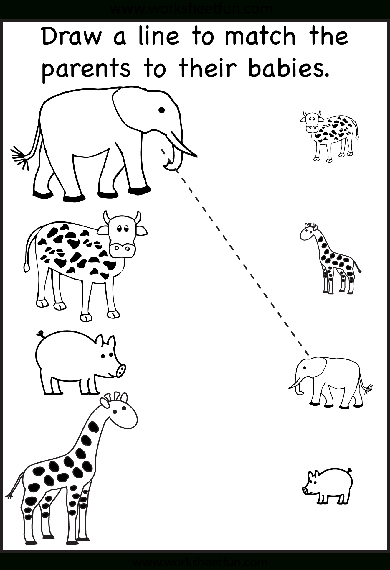 Tons And Tons Of Free Printables! Tracing, Matching, Etc - Free Printable Preschool Worksheets