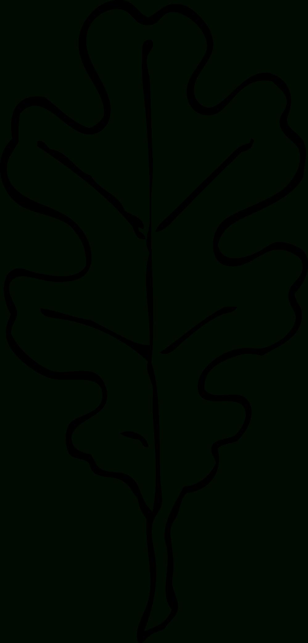 White Oak Leaf Outline | Carved Stamp Idea | Pinterest | Leaf - Free Printable Oak Leaf Patterns