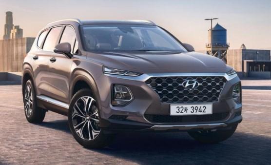 2020 Hyundai Santa Fe Sport SUV design