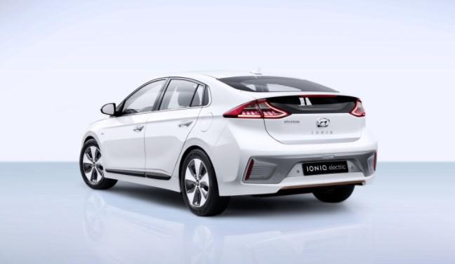 2020 Hyundai Ioniq back