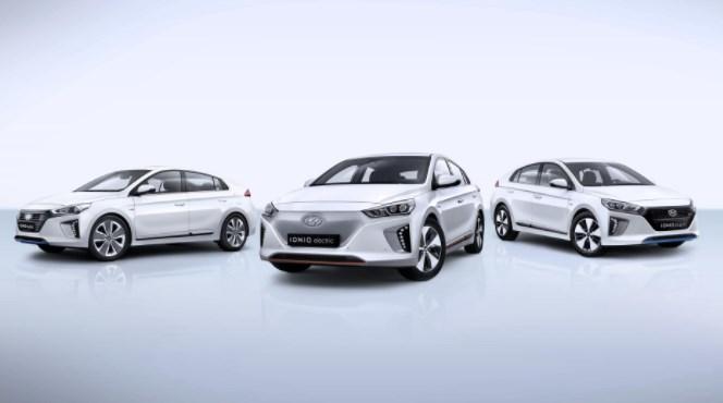 2020 Hyundai Ioniq colors