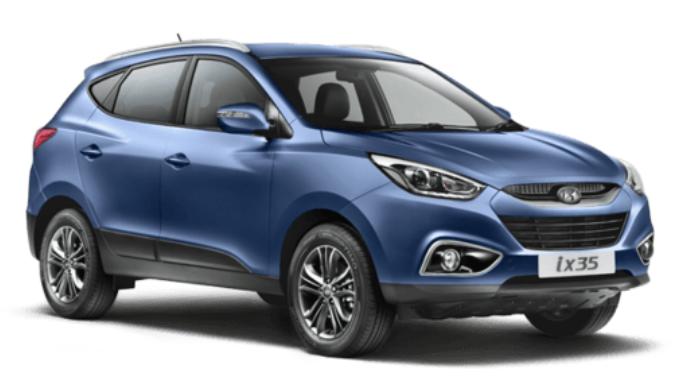 2019 Hyundai iX35 design