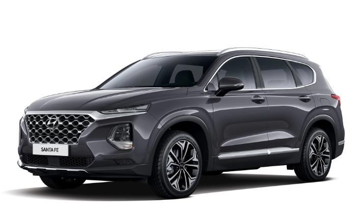 2019 Hyundai Santa Fe design