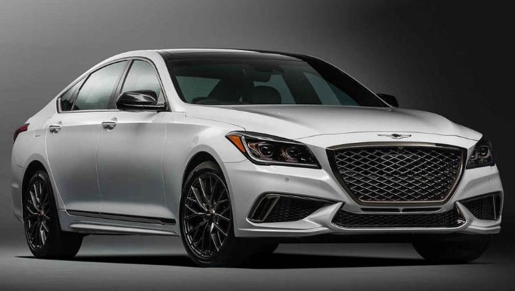 2019 Hyundai Genesis Sports Turbo design