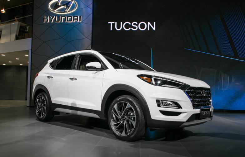 2019 Hyundai Tucson Hybrid Mid-Cycle design