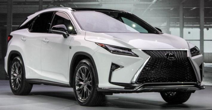 2019 Lexus RX 450H design