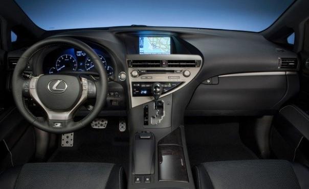 2019 Lexus RX 330 SUV design