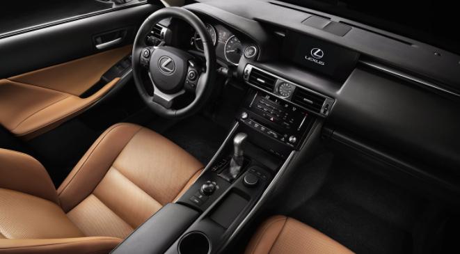 2019 Lexus IS 2.0L design