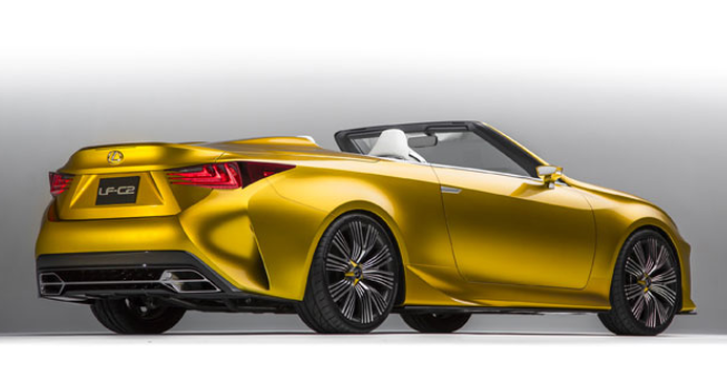 2019 Lexus LC V-8 Convertible design