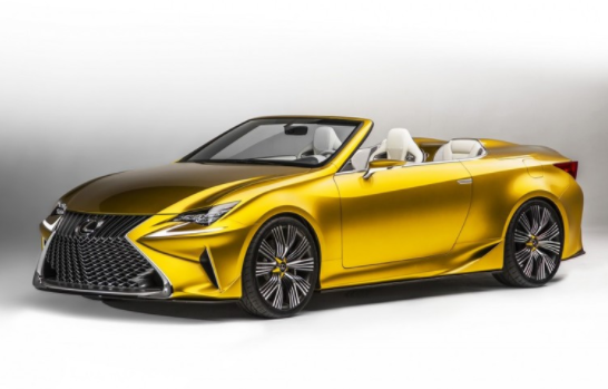 2019 Lexus LC V-8 Convertible new