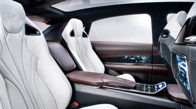 2019 Lexus LF-1 interior
