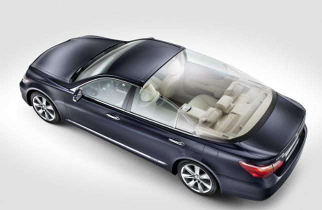 2019 Lexus LS600H design