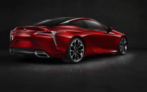 2020 Lexus LC 500 Coupe news