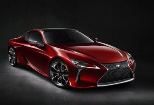2020 Lexus LC 500 Coupe design