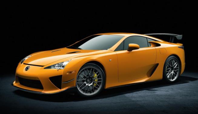 2020 Lexus LFA Coupe news