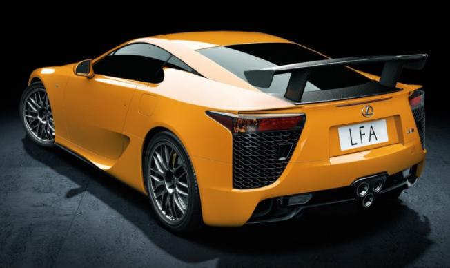 2020 Lexus LFA Coupe redesign