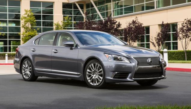 2020 Lexus LS 400 Sedan design