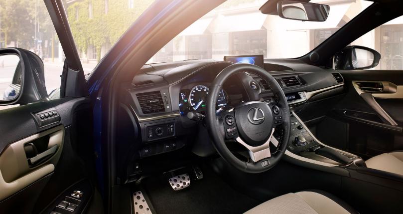 2019 Lexus CT 200H Hybrid design