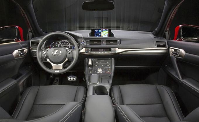 2019 Lexus CT200h Facelift design