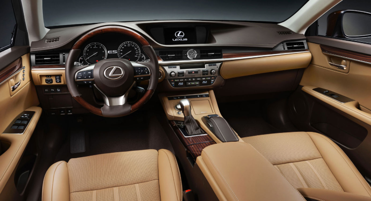 2019 Lexus ES 350 AWD design