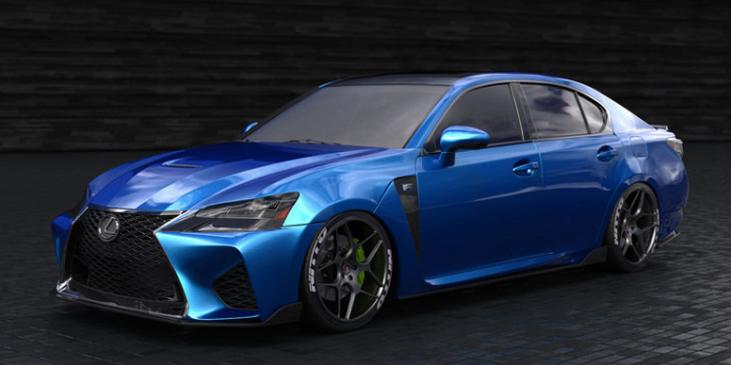 2019 Lexus GS F Sport