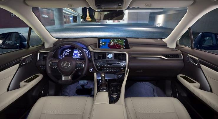2019 Lexus GX 460 design