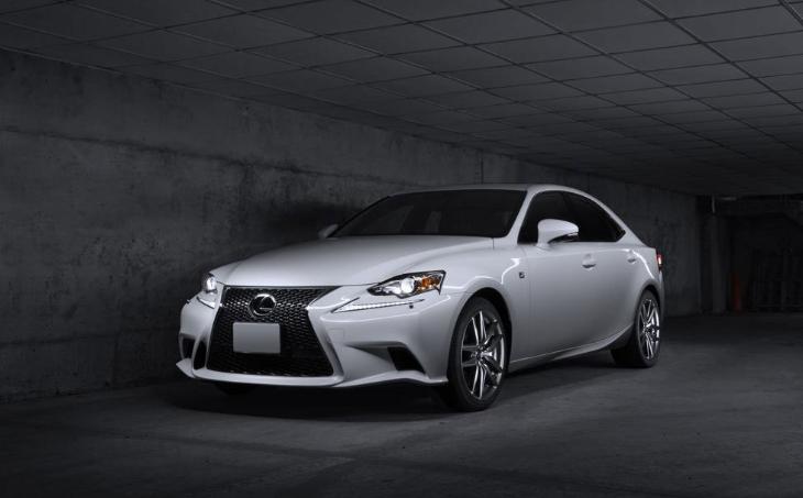 2019 Lexus IS 350 redesign