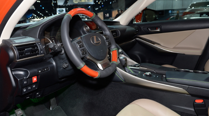 2019 Lexus IS Sriracha design