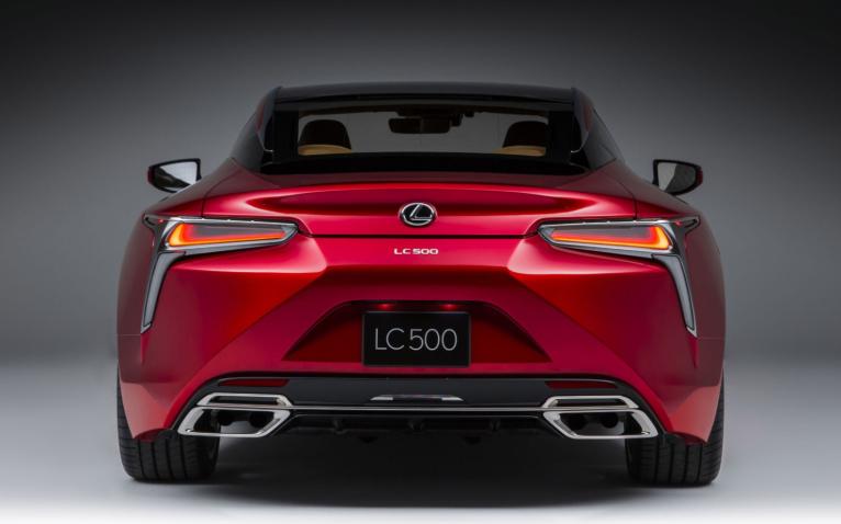 2019 Lexus LC 500 Convertible redesign