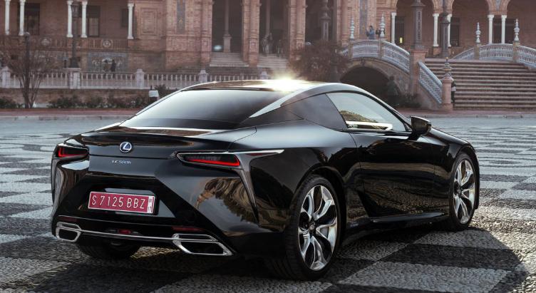 2019 Lexus LC 500F redesign