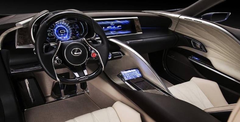 2019 Lexus LC 500F news