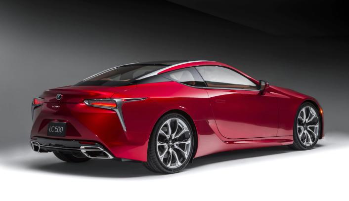 2019 Lexus LC Convertible news