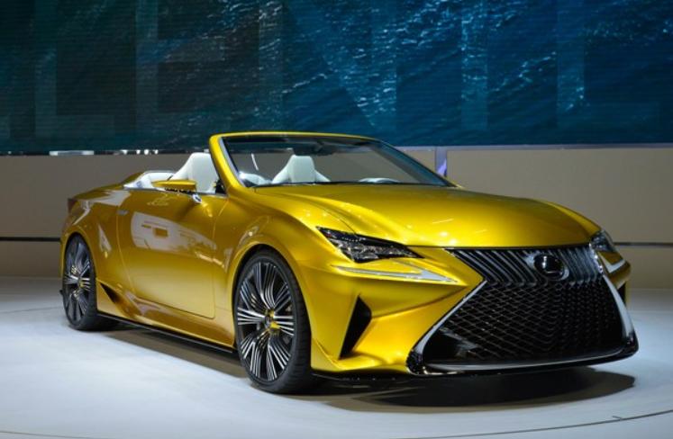 2019 Lexus LC Convertible design